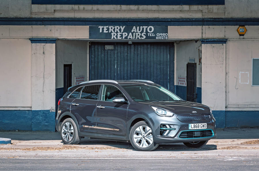 Kia e-Niro 2019 road test review - static