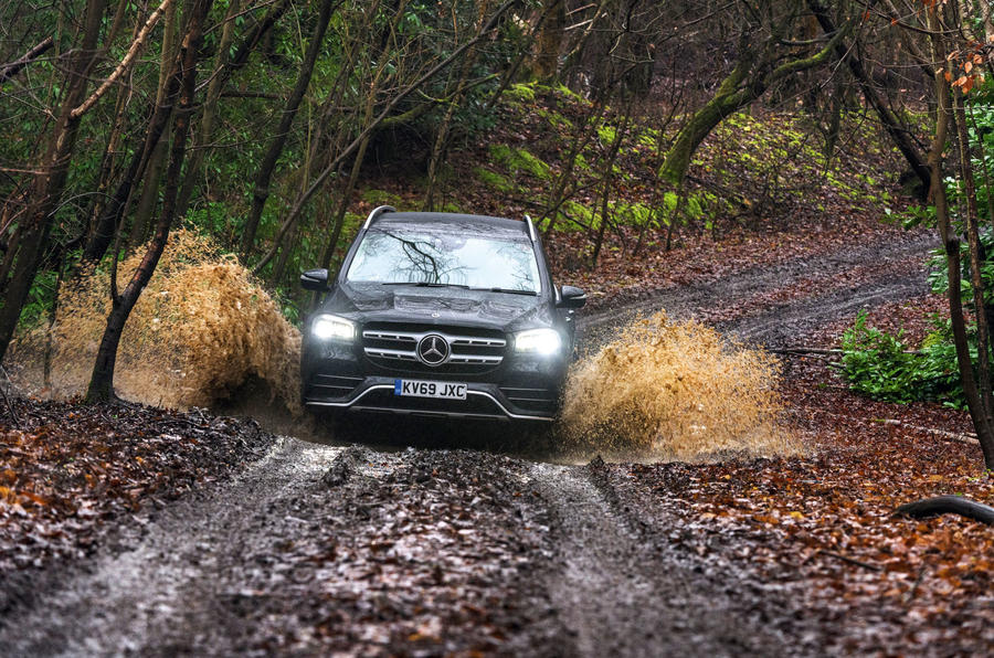 Mercedes-Benz GLS 2020 road test review - off-road