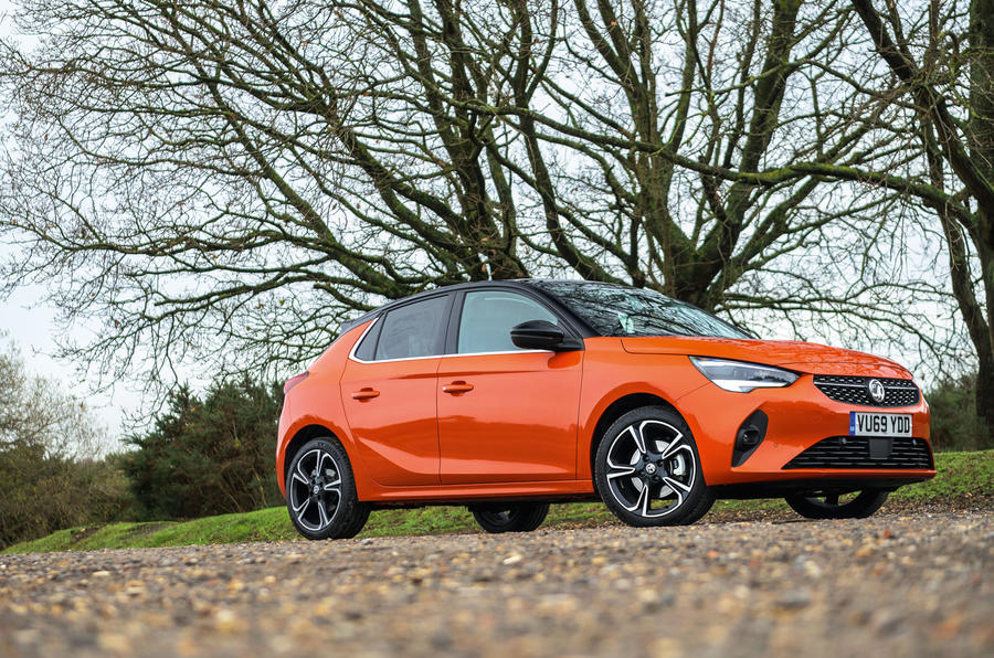 Vauxhall Corsa 2020 road test review - static