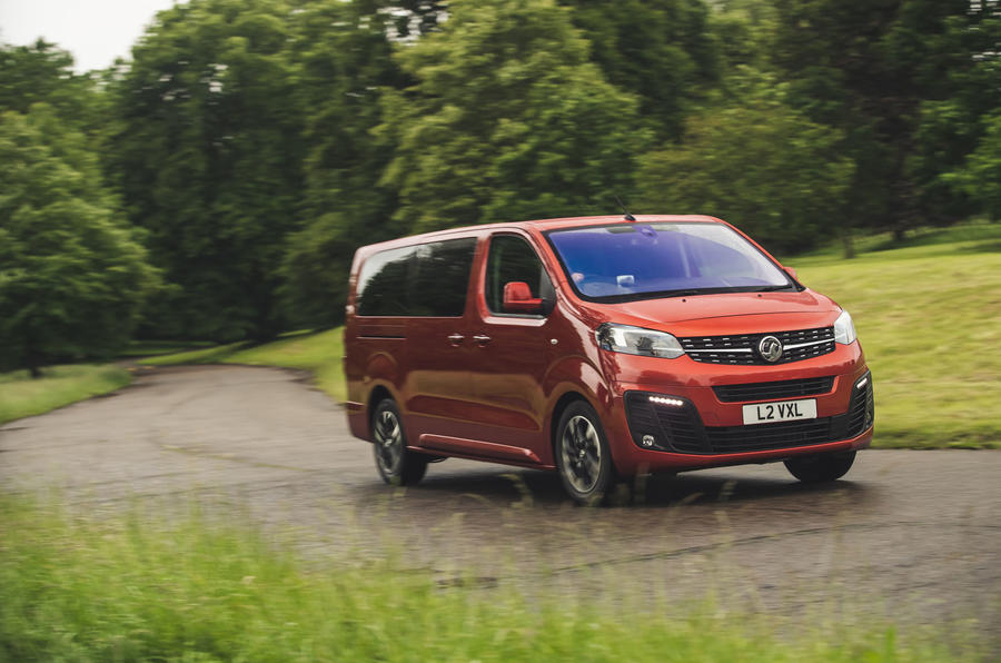 Vauxhall Vivaro Life 2019 road test review - on the road front
