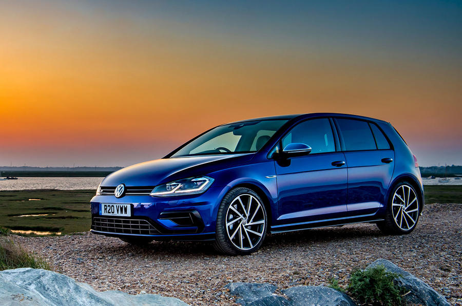 Volkswagen Golf R 2019 road test review - static front