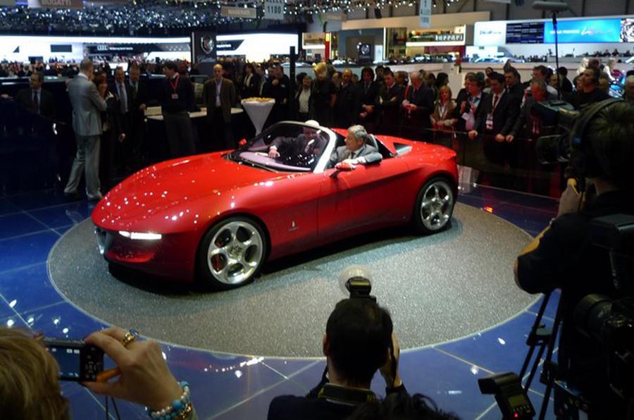 Pininfarina's Alfa concept