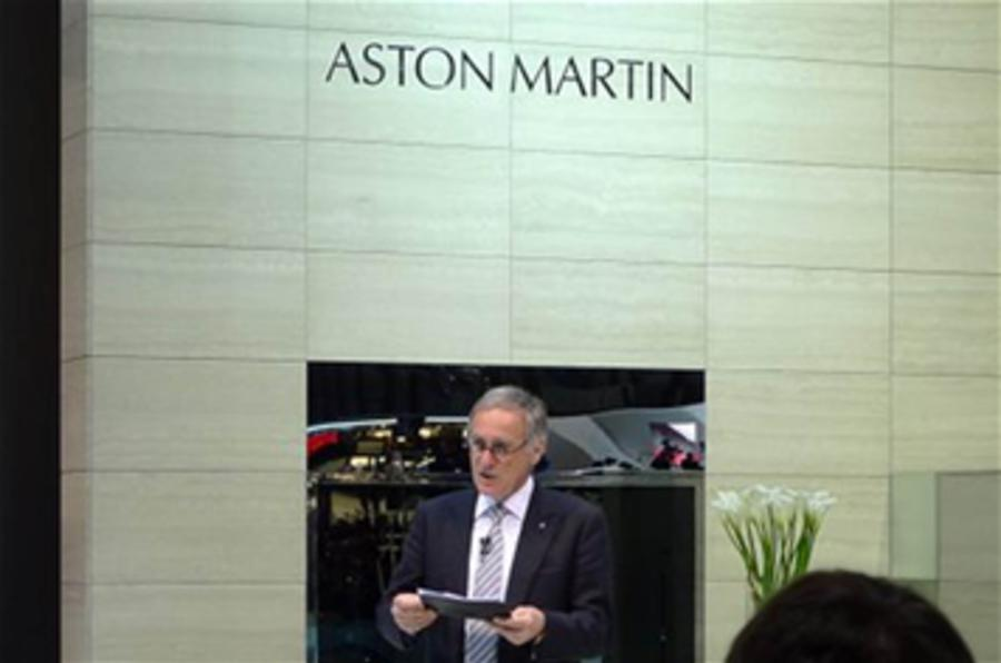 Aston's CEO to stay on