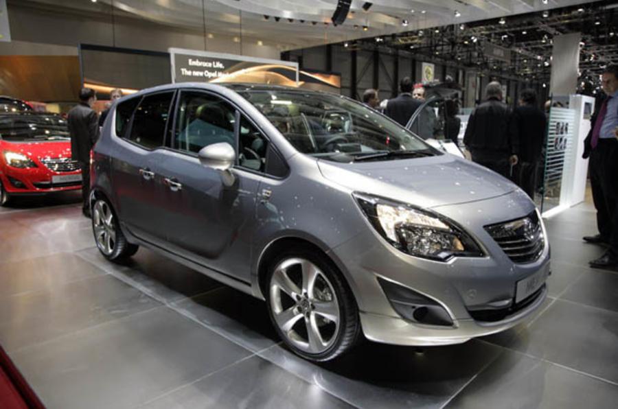 Vauxhall Meriva from £15,495