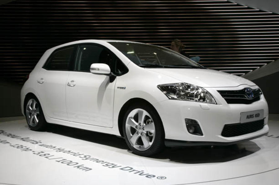 Geneva motor show: Toyota Auris HSD