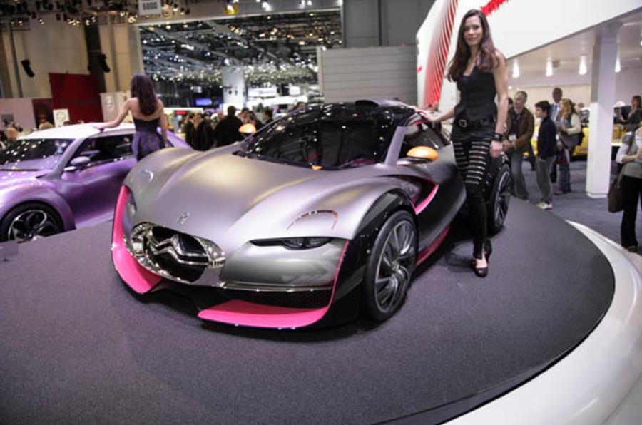 Geneva motor show 2010: Citroen Survolt sportscar concept | Autocar