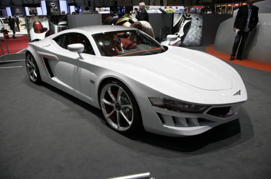 Geneva motor show: Hispano's Audi R8