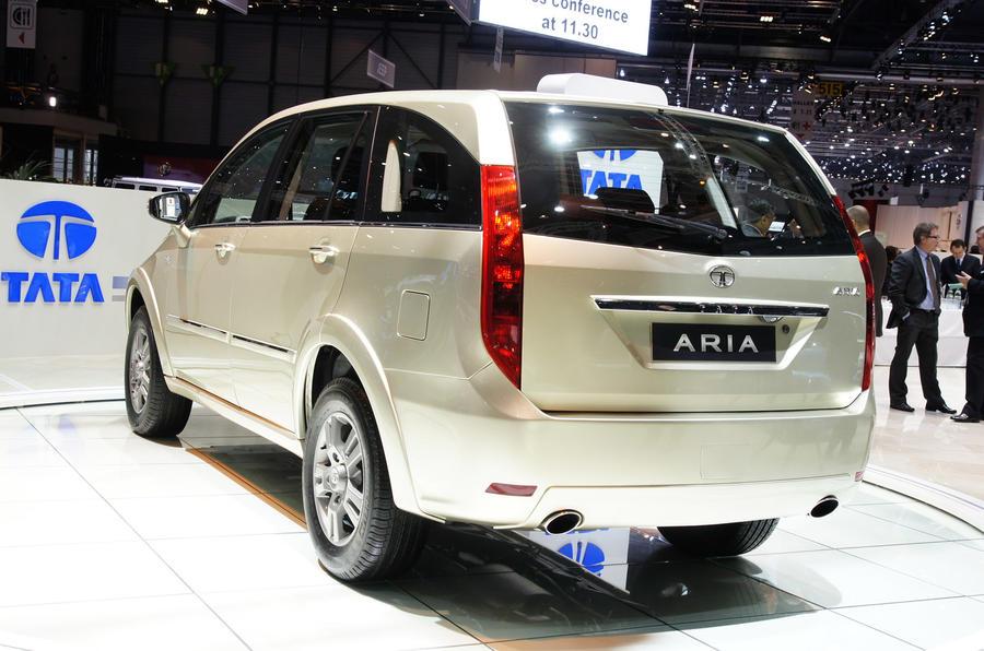 Geneva motor show: Tata Aria