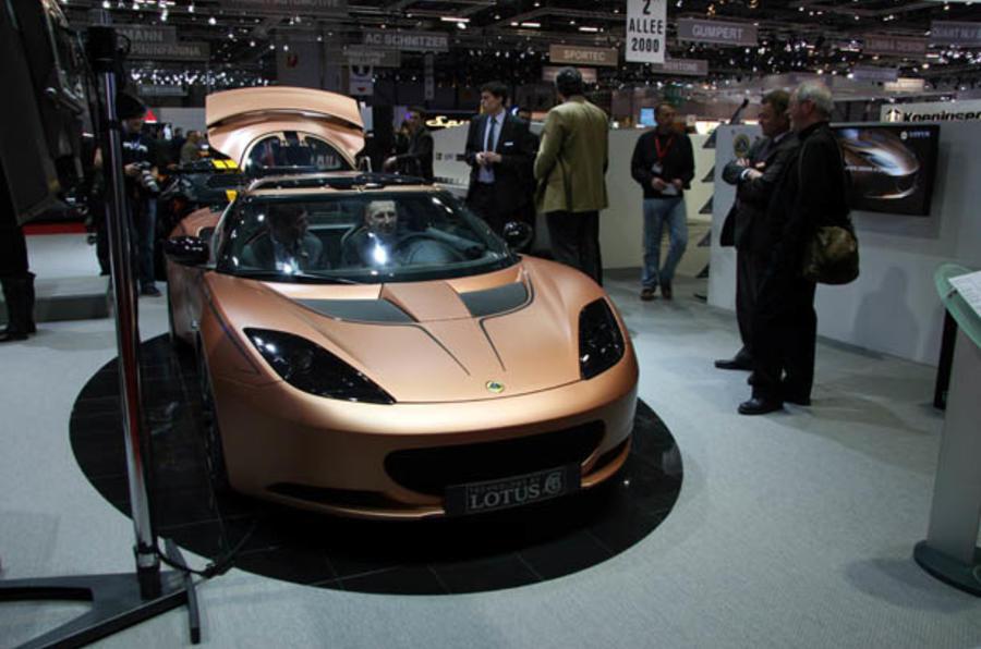 Evora hybrid is 'tech showcase'
