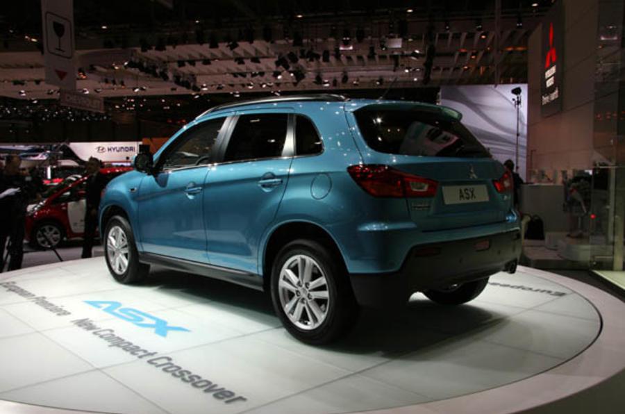 Geneva motor show: Mitsubishi ASX SUV