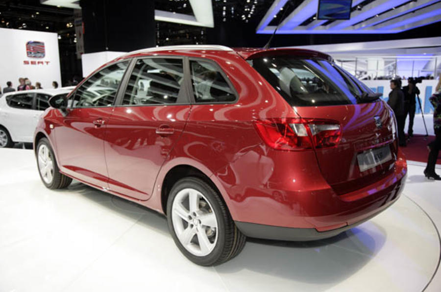 Geneva motor show: Seat Ibiza ST