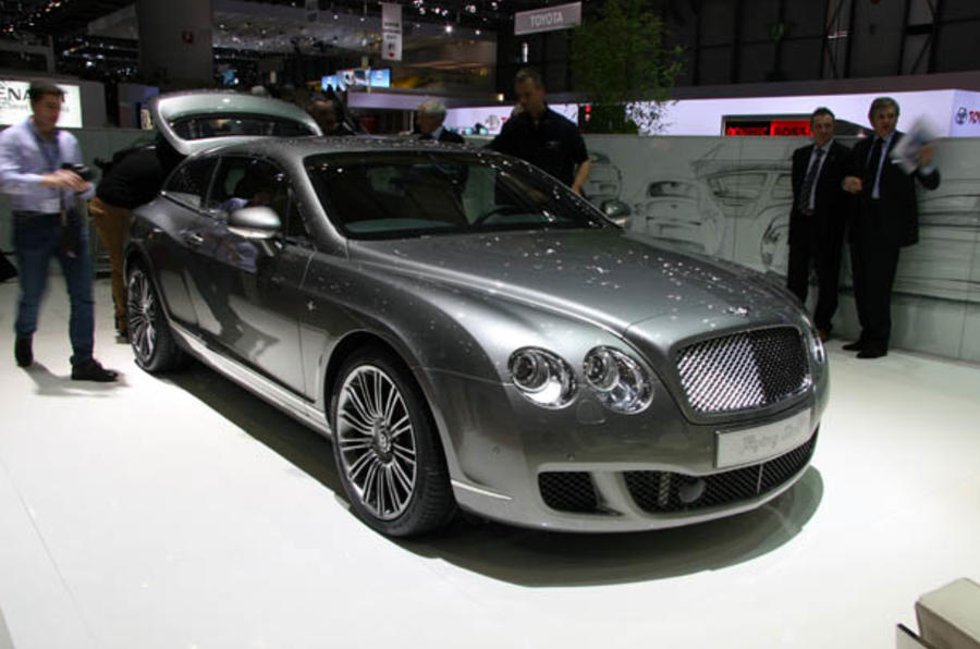 Geneva motor show: Bentley Flying Star