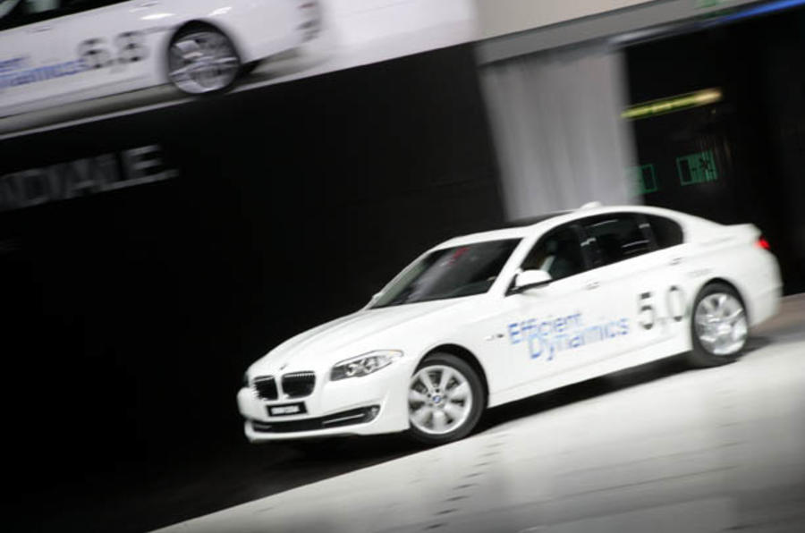 BMW 5-series hybrid revealed