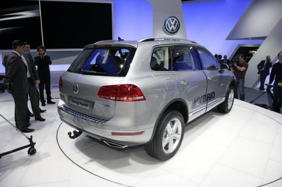 Geneva motor show: VW Touareg