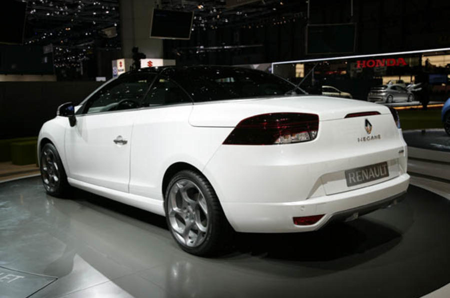Geneva motor show: Renault Megane CC