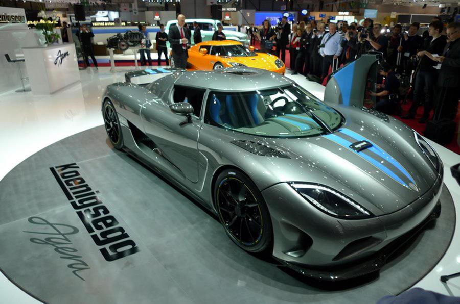 Geneva motor show: Koenigsegg Agera