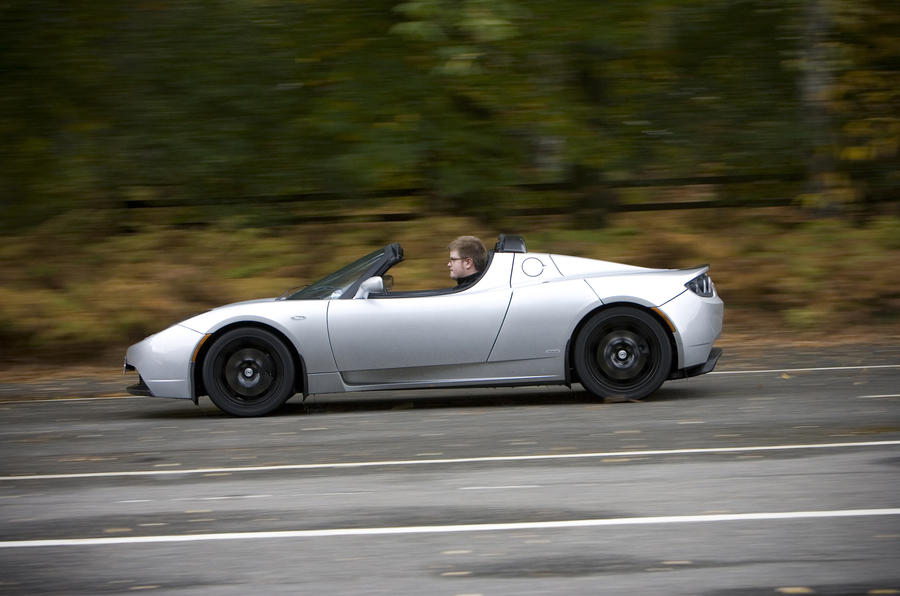 Tesla Roadster Sport side profile