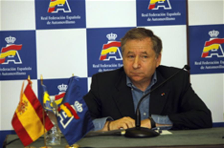 Jean Todt is new FIA president
