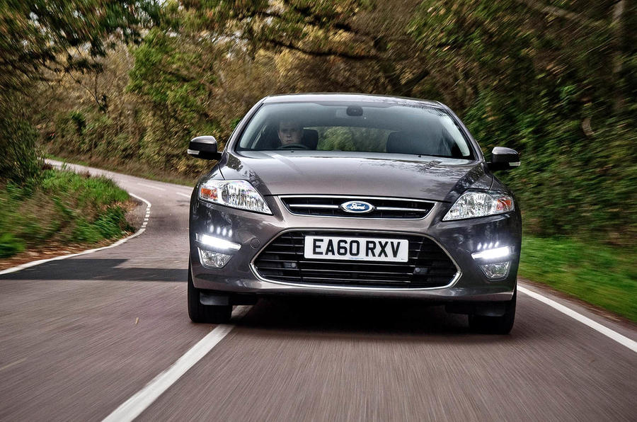 Ford Mondeo front end