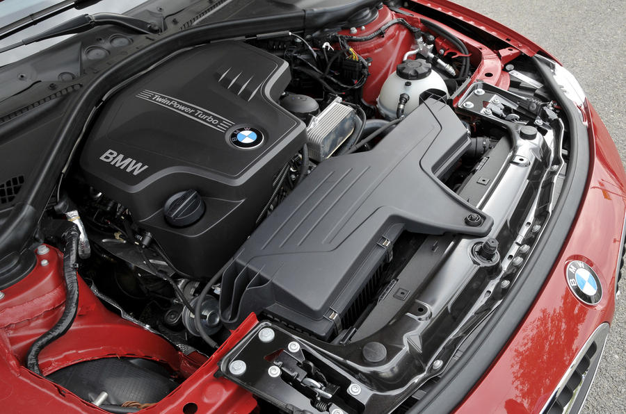 2.0-litre BMW 328i petrol engine