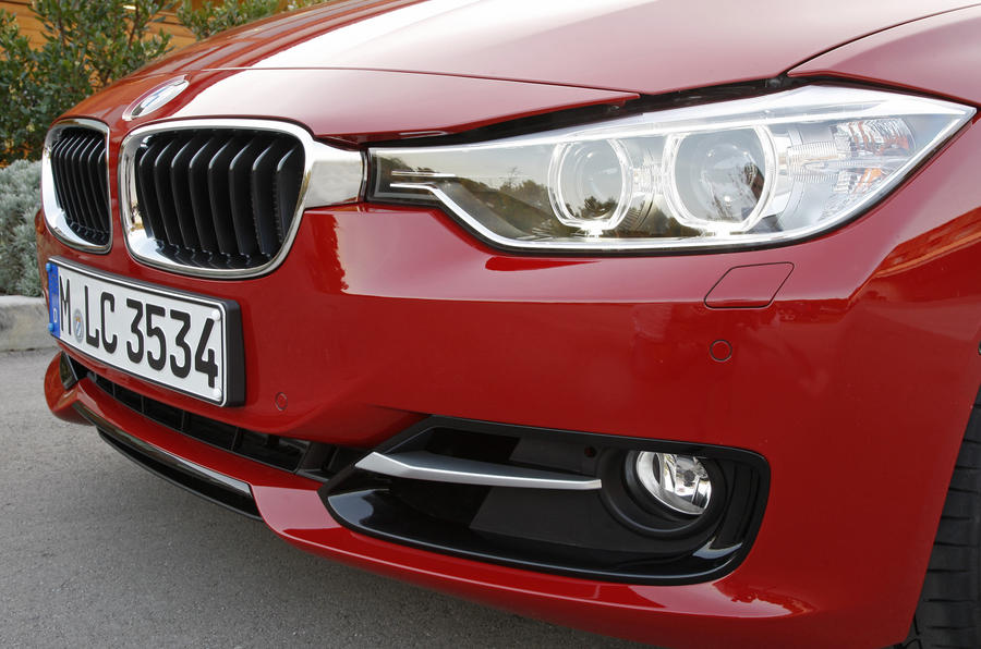 BMW 328i Sport headlight