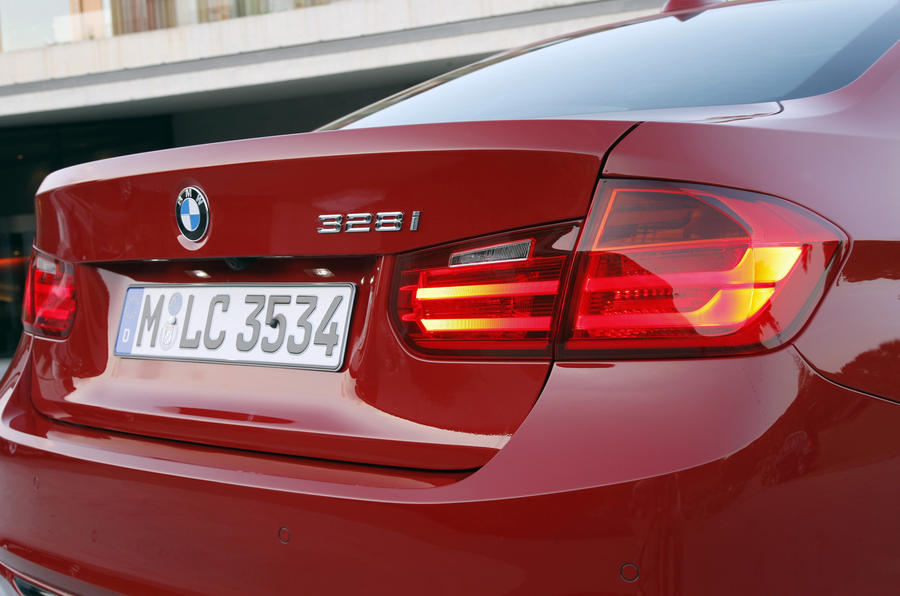 BMW 328i Sport tail-light
