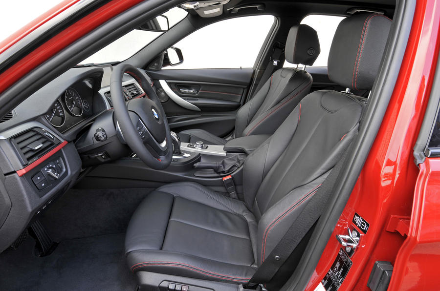 BMW 328i Sport interior