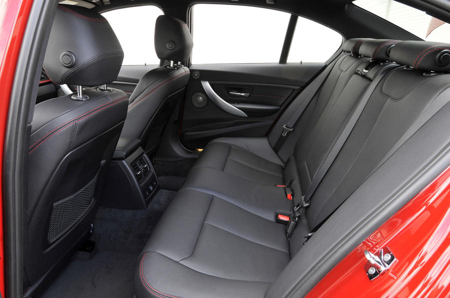 BMW 328i Sport rear seats