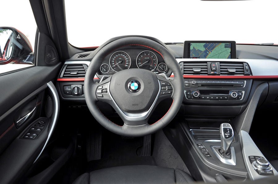 BMW 328i Sport dashboard