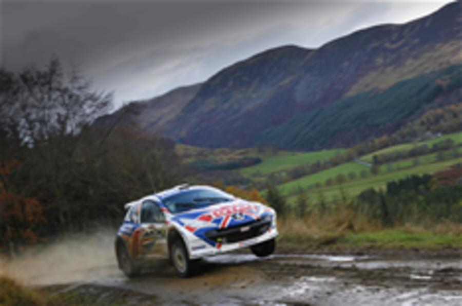Meeke wins Rally of Scotland