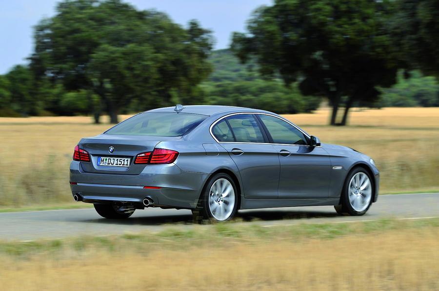 BMW 5 Series 530d rear