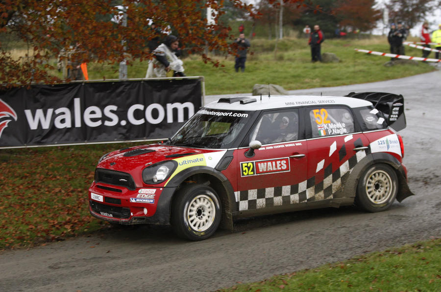 BMW reshuffles Mini rally assault