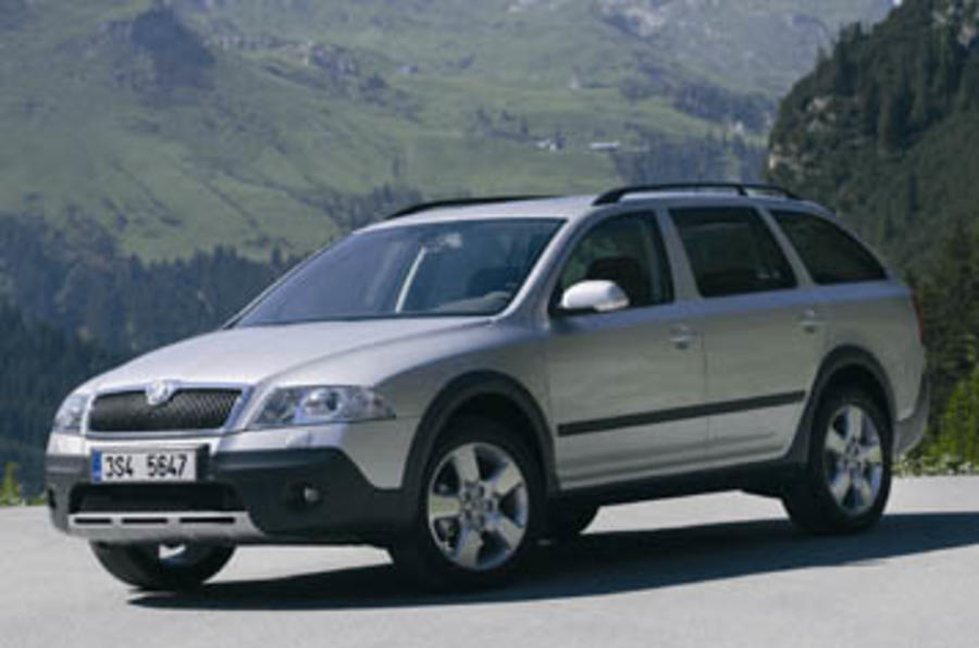 skoda octavia scout review autocar. Black Bedroom Furniture Sets. Home Design Ideas
