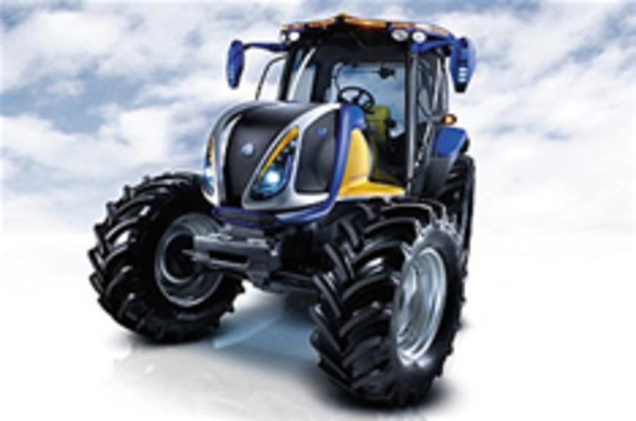 Fuel cell tractor revealed