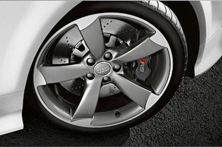 Audi TT RS 2.5 Coupe alloy wheels
