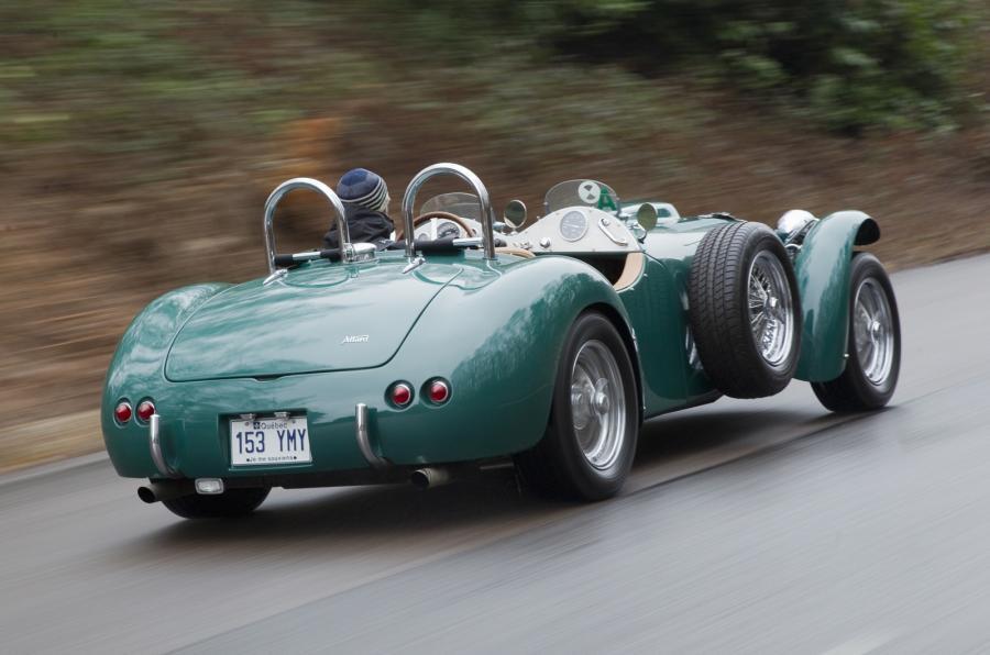 Allard J2X Mk2 rear