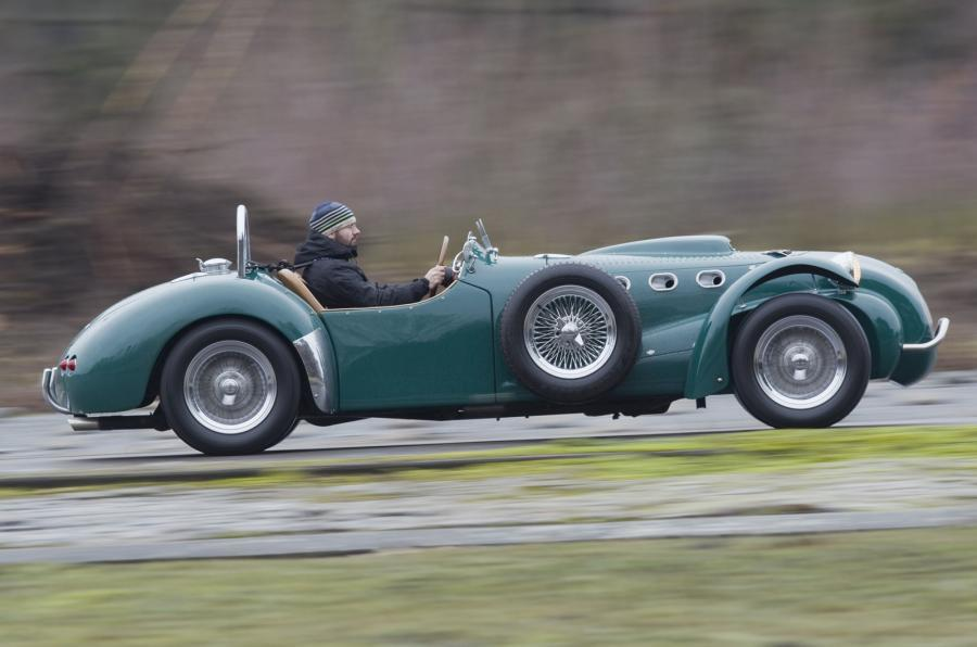 Allard J2X Mk2 side profile