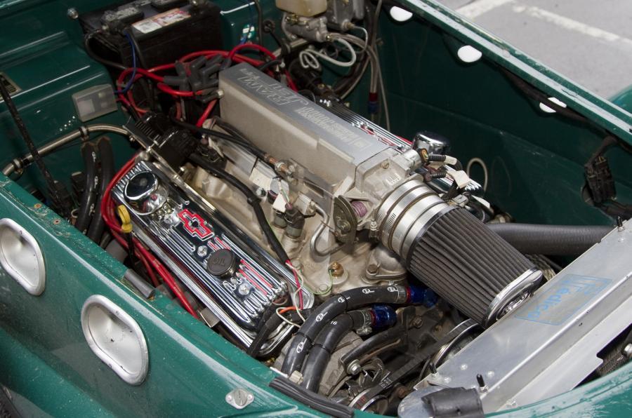 Allard's 5.8-litre V8 Chevy engine