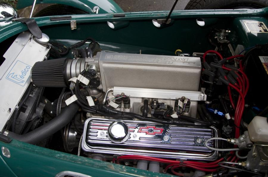 American V8 in the Allard J2X