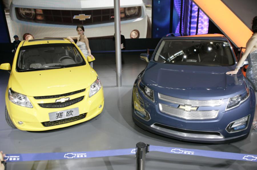 Beijing motor show: Chevrolet Volt MPV5