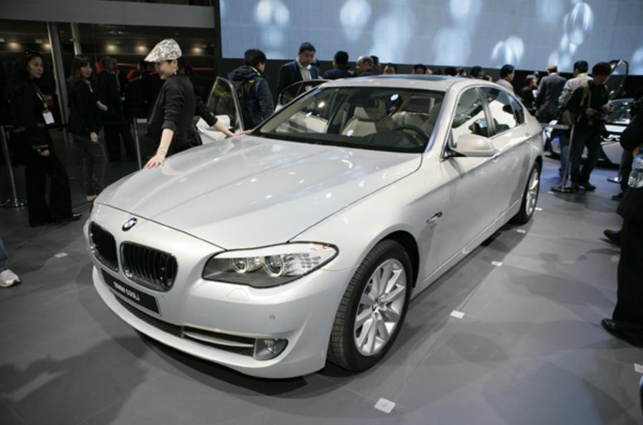 Beijing motor show: BMW 5-series LWB