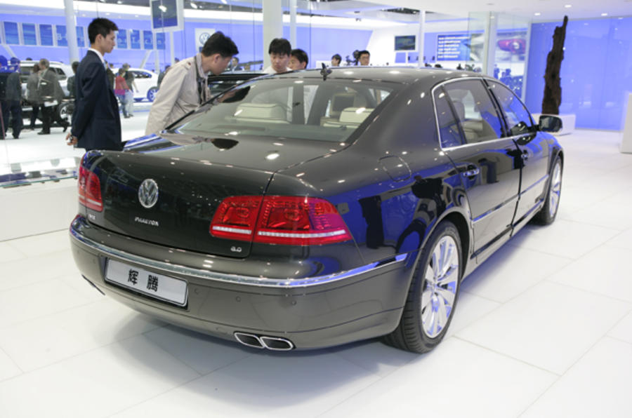 New VW Phaeton revealed