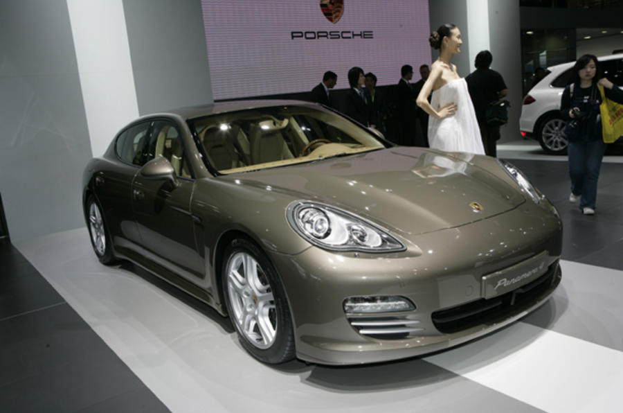 Beijing motor show: Porsche Panamera V6