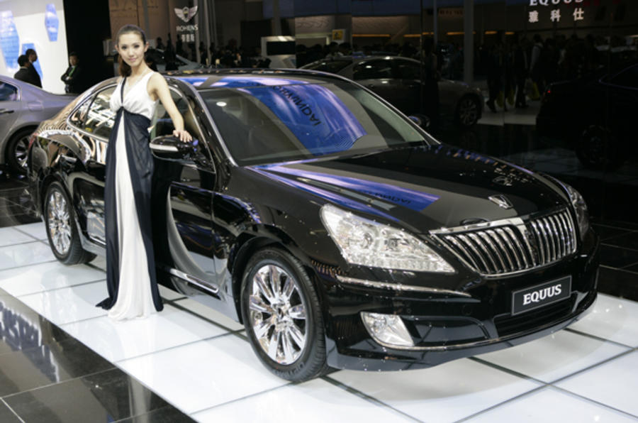 Big new saloons star at Beijing