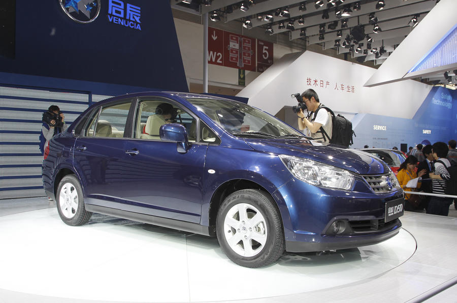 Beijing: Nissan launches Venucia brand