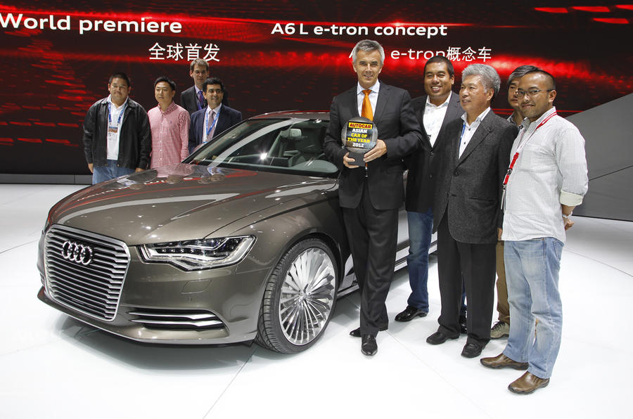Beijing show: Audi A6 wins Asian COTY
