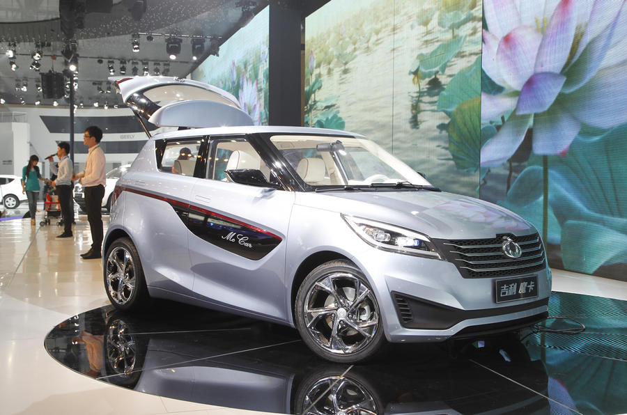 Beijing show: Geely McCar is new taxi
