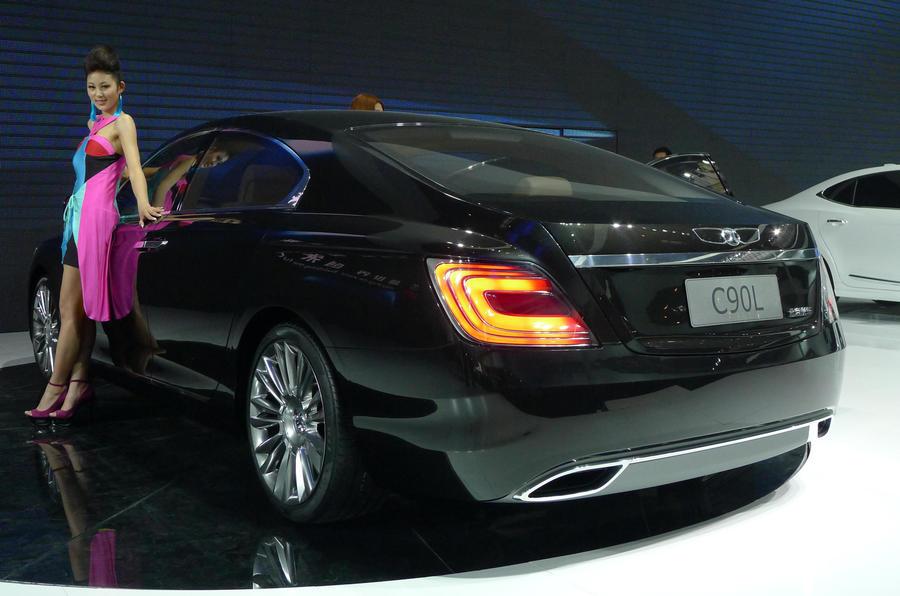 Beijing show: BAIC's V12 luxury saloon
