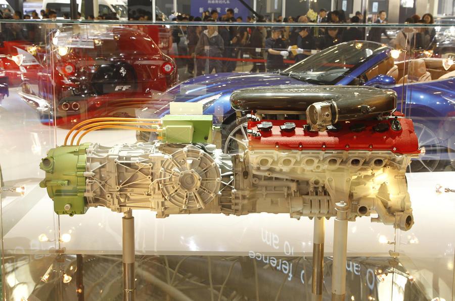 Beijing show: Ferrari Enzo's V12 HY-KERS