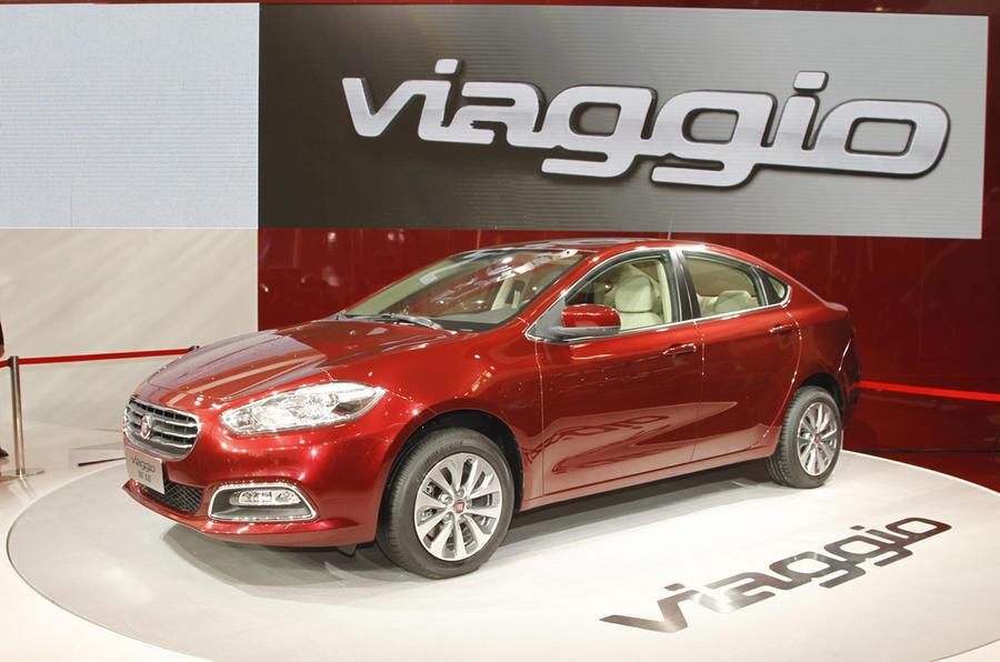 Beijing motor show: Fiat Viaggio